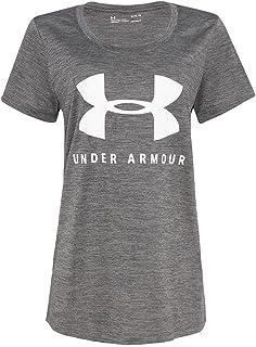 Camiseta de Treino Feminina Under Armour Tech Crew Neck