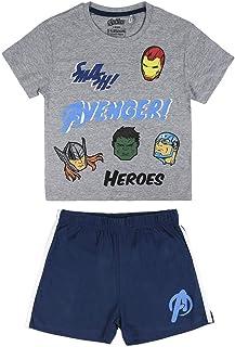 Cerdá Pijama Corto Algodón Avengers Conjuntos Niños