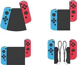 O conjunto de conectores TwiHill 5 em 1 é adequado para Nintendo Switch, conectores de manopla pequena esquerda e direita ...
