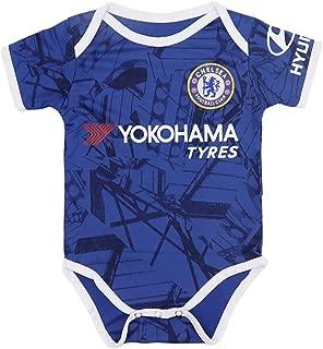 Fc Chelsea Soccer Club Cotton Bobysuit Onesie Baby Suit for Romper Blue