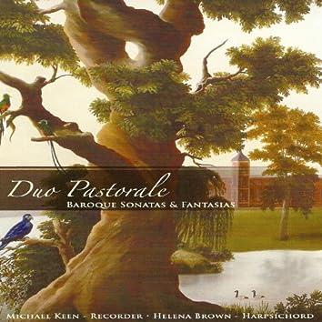 Duo Pastorale, Baroque Sonatas & Fantasias (For Recorder and Hapsichord)