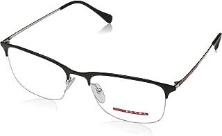 0PS 54IV Monturas de gafas, Top Black/Silver, 53 para Hombre