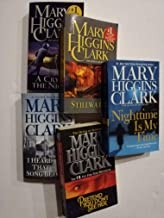 Set of 5 Mystery Thrillers from Mary Higgins Clark: Nighttime is my Time, Stillwatch, a Cry in the Night, Pretend You Don'...
