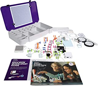 Sphero littleBits STEAM+ Kit - Engage up to 3 Students - 40+ Hours of Standard Aligned Lessons - Electronics & Coding Lessons