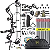 Topoint Trigon Compound Bow Full Package,CNC Milling Riser,USA Gordon Composites Limb,BCY String,19
