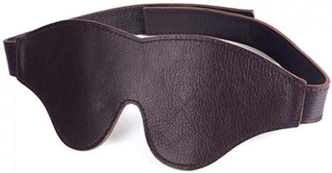 Spartacus Blindfold quality assurance Ranking TOP19 Classic Cut Leather Brown