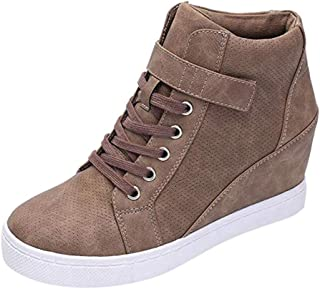 Amazon.es: sneakers cuña: Zapatos y complementos