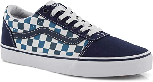 Vans Ward Lace-Up Checkerboard Blau