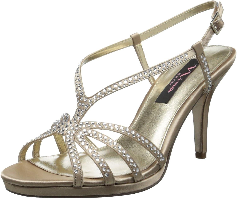 Nina Damen Bobbie-js, Silberjolie, Silberjolie, 36.5 EU  Online-Shopping und Modegeschäft