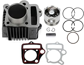 ZENITHIKE Cylinder Top End Kits fit for 1969-2008 Honda XR70 Honda CT70 Honda S65 Honda TRX70 Honda CRF70 Honda ATC70 gasket replacement kit for TA05105AT302PS rebuild kit