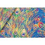 TOMASELLI MERCERIA 50 cm Hippye-Stoff, bedruckt, 150 cm
