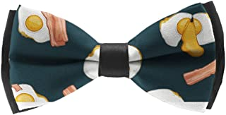 Formal Bow Ties for Men, Elegant Adjustable Outfit Suit Pre Tied for Graduation