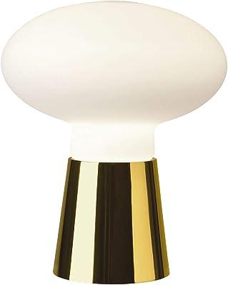 IDEAL LUX BIRILLO TL1 Small E27 Blanco lámpara de Mesa - Lámparas ...