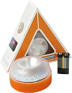 GirarYou Luces de Advertencia de Emergencia V16 Homologadas DGT Lámpara Señales Luminosas Multifuncional Luz de Seguridad ...