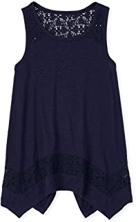 The Children's Place Sleeveless Solid Fashion Top