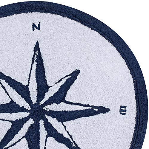 Round compass rug _image2