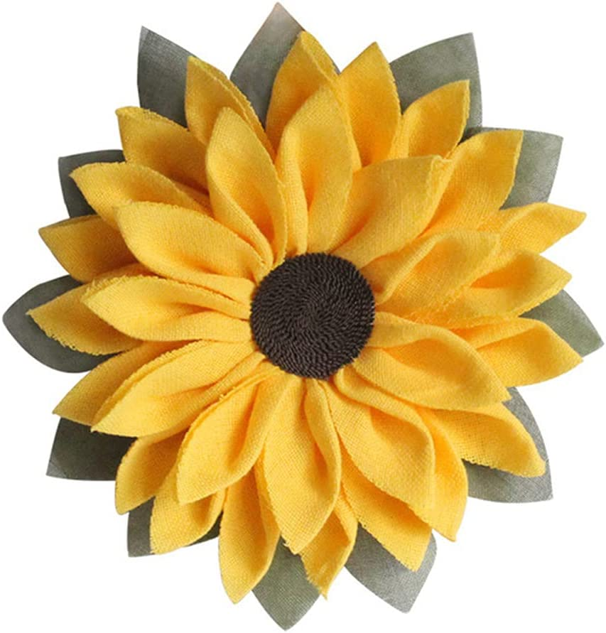 TIWA Wall Decoration Sunflower Raleigh Mall Hanging Rapid rise Door Be Garland