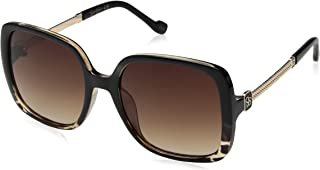 Women's J5715 Over-Sized Square Sunglasses with Metal...