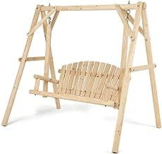 Best rustic bench swing Reviews