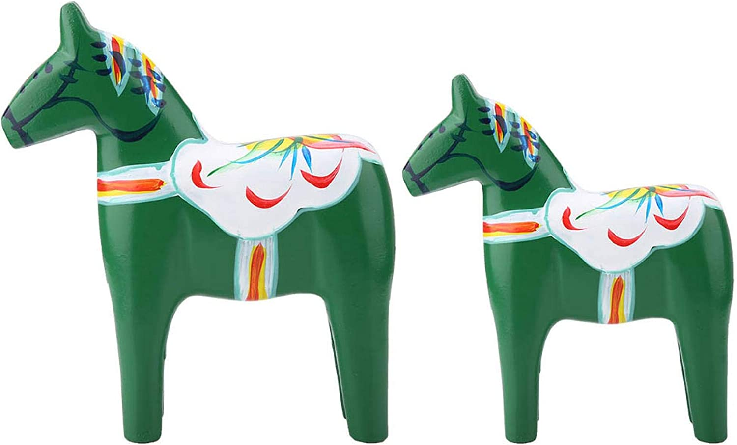 CUIFATI Painted Horse Figurine Eco-Fri New Sales of SALE items from new works item Quality Wooden Material