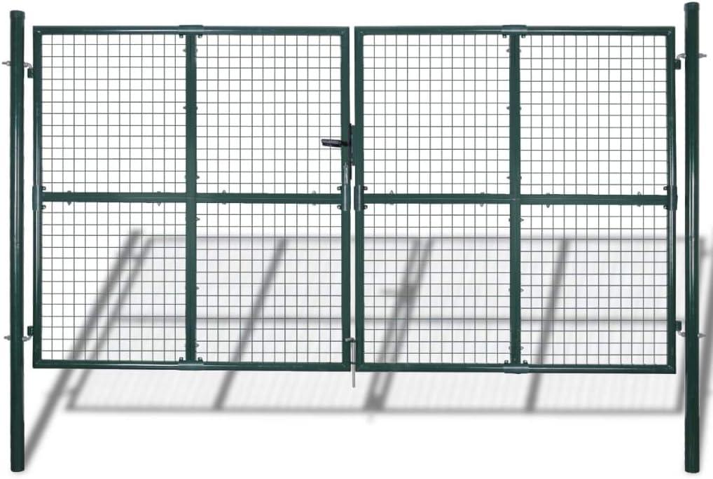 5 ☆ popular Modern Garden Fence Gate Super special price Barrier Double Locking With Door