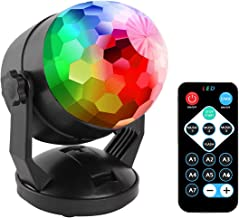 Remote Control Portable Sound Activated Party Lights for Outdoor and Indoor, Battery Powered or USB Plug in, Dj Lighting, ...
