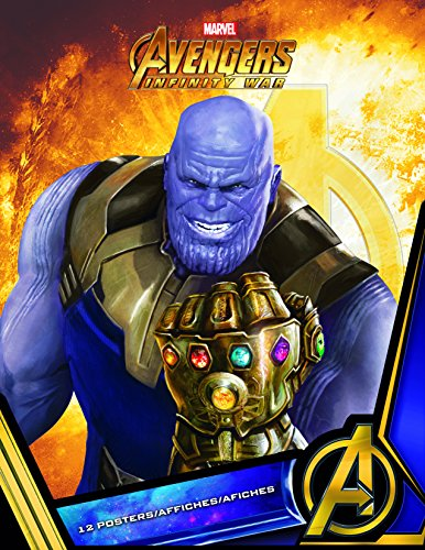 "Trends International Poster Book-Avengers: Infinity War Wall, 8.5"" x 11"" x .25"", Multi"
