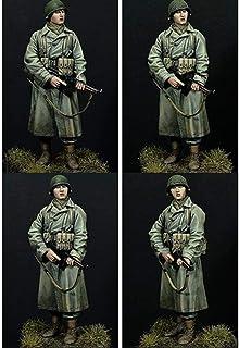 1/16 120Mm Żołnierz Piechoty Amerykańskiej 120Mm Historyczny Model Figurki Z Żywicy Zestaw Miniatur Unassambled Niepomalowany