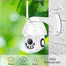 Dome Surveillance Cameras,WiFi Camera Outdoor PTZ IP Camera 1080p Speed Dome CCTV Security Cameras WiFi Exterior 2MP IR Home