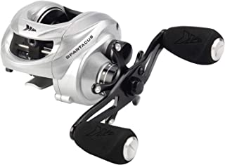 KastKing Spartacus Baitcasting Fishing Reel Ultra Smooth 17.5 LB Carbon Fiber Drag, 6.3:1 Gear Ratio,11 + 1 Shielded Ball Bearings, Rubber Cork Handle Knobs