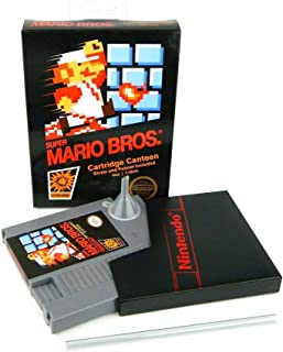Super Mario Bros NES Cartridge 5-Ounce Flask | Licensed Nintendo Merchandise | Novelty Beverage Holder | Perfect For Birthdays, Holidays, Graduation, Bachelor and Bachelorette Parties