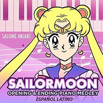 Sailor Moon Opening & Ending Piano Medley (Español Latino)