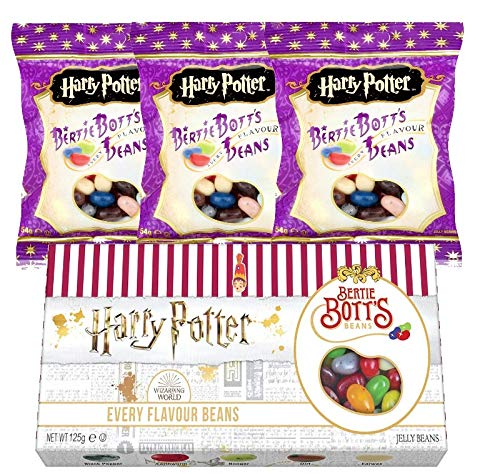 Jelly Belly Harry Potter Set - Jelly Beans Bertie Bott's 125g, 3er Set 54g - (287g)