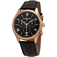 Frederique Constant Chronograph Black Dial Mens Watch