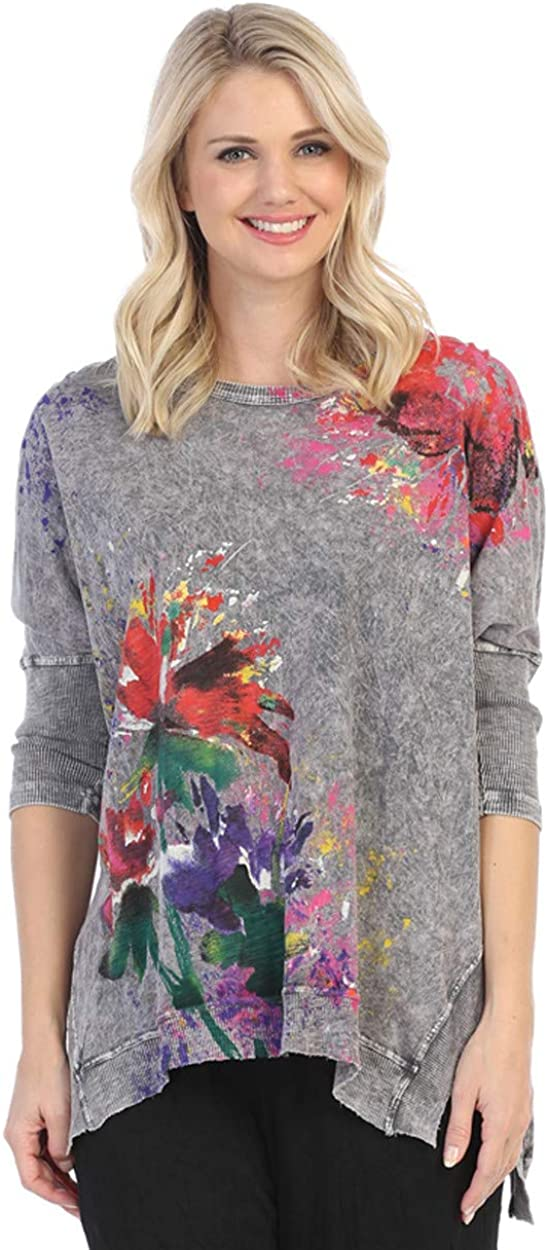 Award Jess and Jane - Floral Poems Sublimation Mineral Inexpensive D Washed Cotton