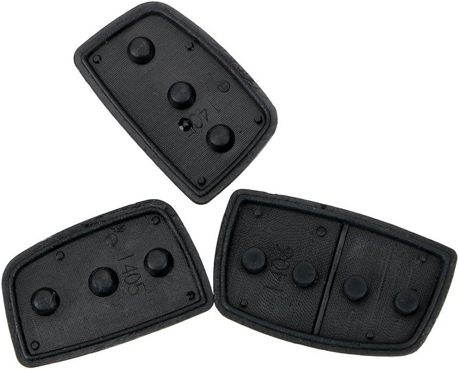 1 st/ück Auto ersatzteile f/ür Hyundai ix35 ix45 autoschl/üssel gummiknopfpolster autoschl/üssel Shell fernschl/üssel Fall Abdeckung 3 4 Tasten 2 mit 1 Kn/öpfen