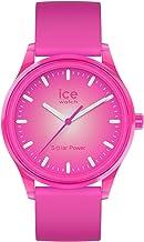 [女性用腕時計]Ice-Watch - ICE Solar Power Indian Summer - Pink Women's Wristwatch with Silicon Strap - 017772 (Medium)[並行輸入品]