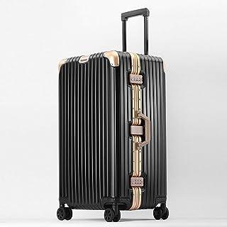 YCYHMYF Suitcase Universal Wheel Aluminum Magnesium Alloy Large Capacity Unisex Travel Suitcase Trolley case 32 inch