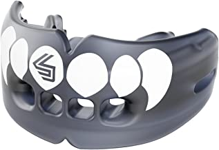 Shock Doctor Double Braces Mouth Guard ? Upper and Lower Teeth Protection ? Mouthguard No Boil / Instant Fit ? For Youth, Teenager, Kids and Adults. Mouth Piece OSFA.
