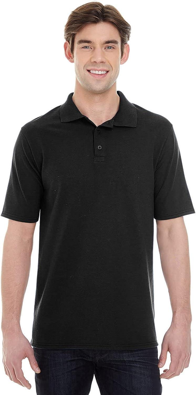 Hanes Men's Short Sleeve X-Temp W/ FreshIQ Polo