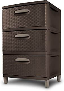 Best brown plastic drawers Reviews