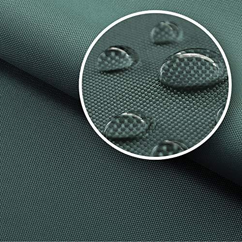 NOVELY® Sunset Oxford 420D Premium SU-02 | Farbe 02 Graphit | extrem reißfestes und dichtes Gewebe | UV-beständig (4-5 von 8) und bedruckbar | Polyester Stoff 1 lfm Outdoor Meterware Strandkorb