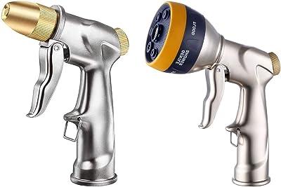 ESOW 100% Metal Gardening Hose Nozzles in (2 Items)