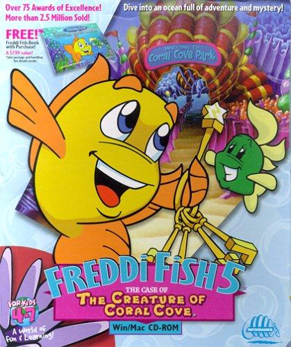 Freddi Fish 5: The Case of the Creature of Coral Cove - PC/Mac