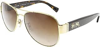 Coach Womens L138 Sunglasses (HC7059) Metal