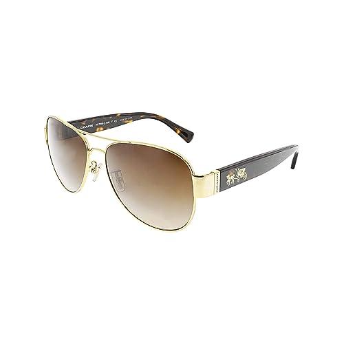 0095cfa1d2696 Coach Womens L138 Sunglasses (HC7059) Metal