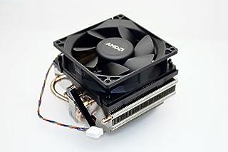 "AMD SILENT COOLER without LED light Socket FM2/FM1/AM3/AM2+/AM2/1207/939/940/754 Copper Base/Alum Heat Sink & 3.5"" Fan w/H..."