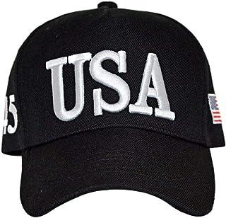 LAVALINK Carta De Donald Trump Cap Ajustable De La Bandera De Los Eeuu Gorra De Béisbol Ajustable Del Sombrero Del Sombrer...