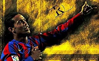 XXW Artwork Ronaldinho Poster Football player/Ronaldo de Assis Moreira Prints Wall Decor Wallpaper