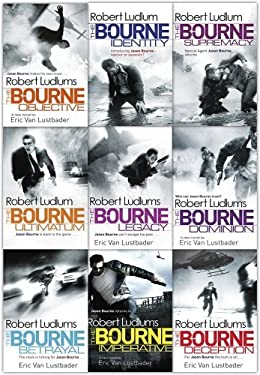 The Bourne Trilogy Series Collection Robert Ludlum 9 Books Set